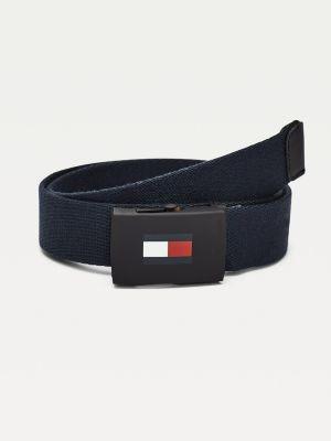 Tommy Hilfiger Kids' Signature Webbing Strap Belt