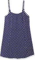 Amoena Women's Tavira Pocketed Polka Dot Swim Dress W/Panty
