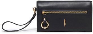 THACKER Eve Leather Crossbody Wallet