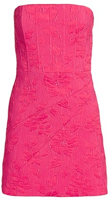 Alice + Olivia Perla Strapless Dress