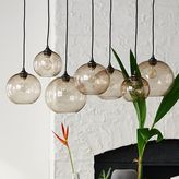 west elm Glass Orb Chandelier - Luster