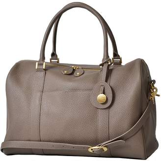Pottery Barn Kids PacaPod Firenze Leather Diaper Bag, Pewter