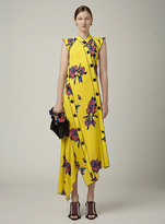 Proenza Schouler Asymmetrical Long Dress