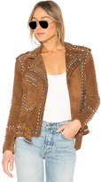 Understated Leather x REVOLVE Studded Easy Rider Jacket