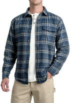 Wolverine Newago Flannel Shirt Jacket - Thermal Lining (For Men)