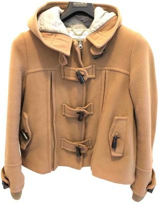 Daniele Alessandrini Camel Wool Coat for Women