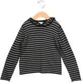 Bonpoint Girls' Wool Striped Top