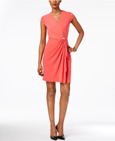 Charter Club Petite Crossover Dress, Created for Macy's