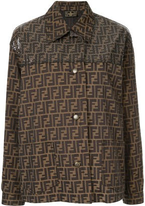 Fendi Pre-Owned FF logo jacket