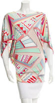 Emilio Pucci Printed Silk Top w/ Tags