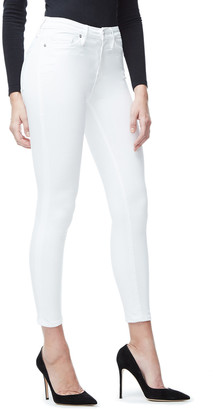 Good American Good Legs Crop Power Stretch Jeans - Inclusive Sizing