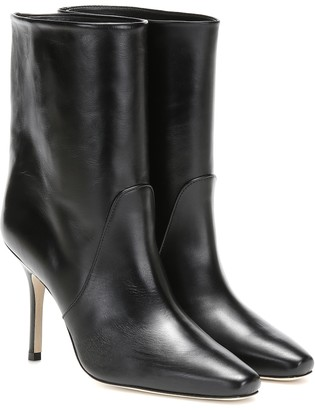 Stuart Weitzman Ebb leather ankle boots