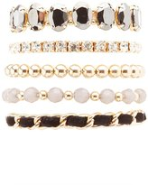 Charlotte Russe Embellished Layering Bracelets - 5 Pack
