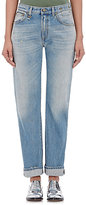 R 13 Women's Classic Straight Jeans-BLUE