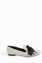 Proenza Schouler Canvas Tassel Loafers