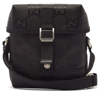 Gucci Off The Grid Gg-jacquard Messenger Bag - Black