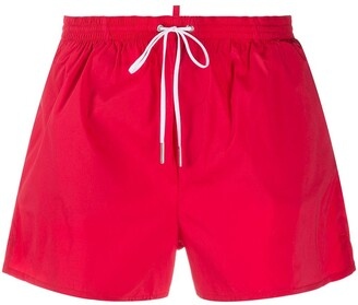 DSQUARED2 Icon drawstring-waist swim shorts