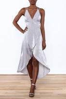 Ark & Co Lavender Wrap Dress