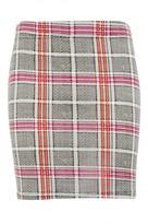 Select Fashion Fashion Womens Multi Hot Check Mini Skirt - size 10