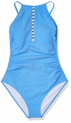 Gottex Women's Center Detail High Neck One Piece Swimsuit