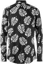 Dolce & Gabbana palm leaf print shirt - men - Cotton - 39
