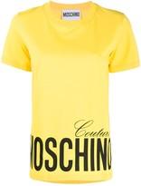 Moschino logo-printed T-shirt
