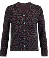Marc by Marc Jacobs Metallic Jacquard-Knit Wool-Blend Cardigan