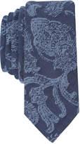 Original Penguin Men's Denim Baroque Skinny Tie