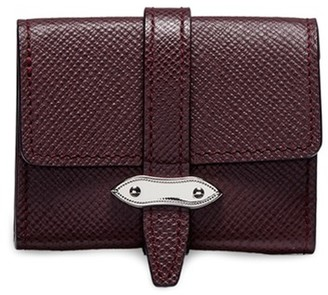 Globe-trotter Coin purse Burgundy