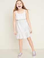 Old Navy Embroidered Ruffle-Tiered Sundress for Girls