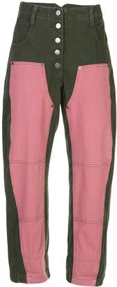Rachel Comey high rise cropped jeans