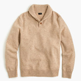 J.Crew Lambswool shawl-collar sweater