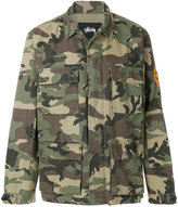 Stussy camouflage fitted jacket