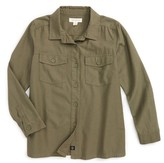 Treasure & Bond Girl's Utility Shirt