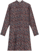 Paul & Joe Floral Print Silk Tunic Dress