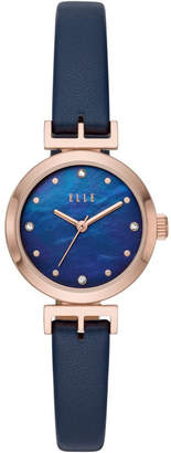 Elle Odeon Blue Analogue Watch