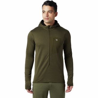 Mountain Hardwear Type 2 Fun 3/4-Zip Hooded Jacket - Men's