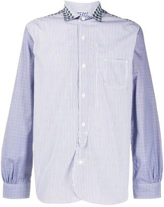 Junya Watanabe Striped Long-Sleeve Shirt