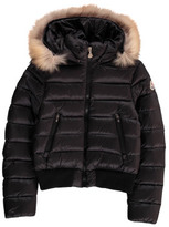 Moncler Alberta Down Jacket with Fur Hood