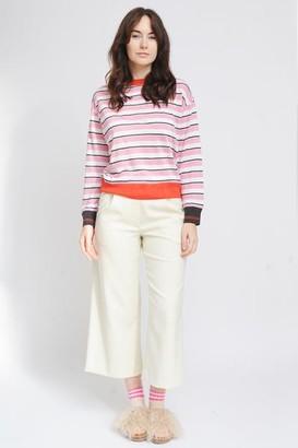 Bellerose Senia T Shirt Linen Stripe B - L