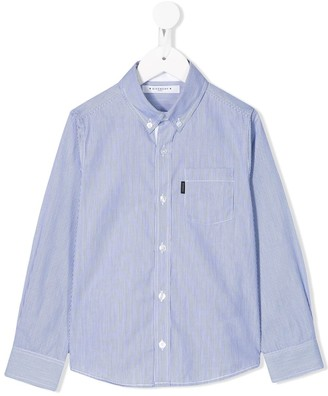 Givenchy Kids Striped Button Down Shirt