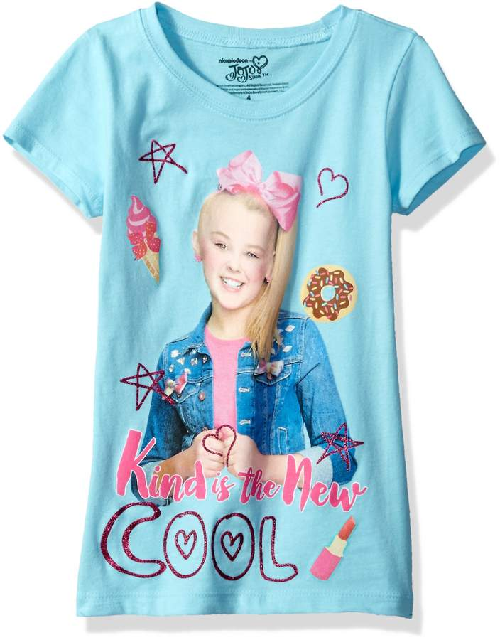 Nickelodeon Little Girls' JoJo Siwa Short Sleeve T-Shirt