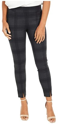 NYDJ Petite Petite Basic Leggings with Front Slit (Piedmont Plaid) Women's Casual Pants