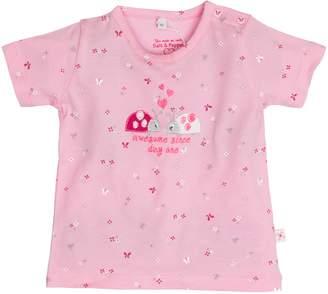 Salt&Pepper Salt and Pepper Baby Girls' NB T-Shirt Sunshine Allover