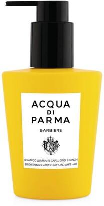 Acqua di Parma Barbiere Brightening Shampoo for Grey and White Hair (200ml)