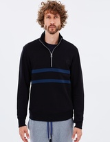 Paul Smith Zip Neck Sweat