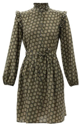 Max Mara Sabina Dress - Navy Multi