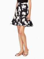 Kate Spade Posy floral flounce skirt