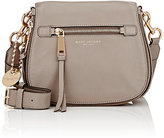 Marc Jacobs Women's Recruit Small Saddle Bag-LIGHT GREY