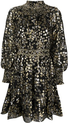 MICHAEL Michael Kors Metallic-Tone Mini Dress